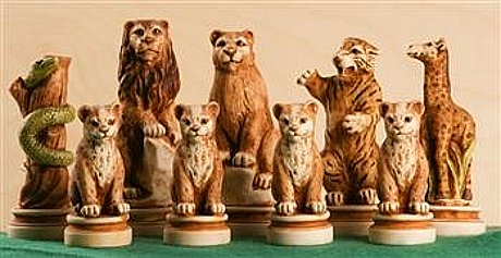 Animal Kingdom Chess Pieces