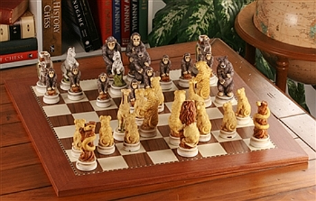 Animal Kingdom Chess Set