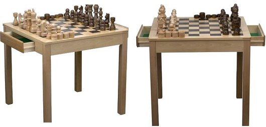 modern chess table