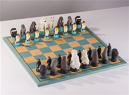 glacier chess set