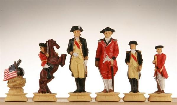 revolutionary war chess sets