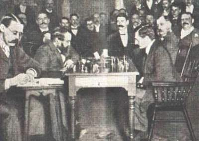 Steinitz versus Lasker - World Chess Championship - 1894