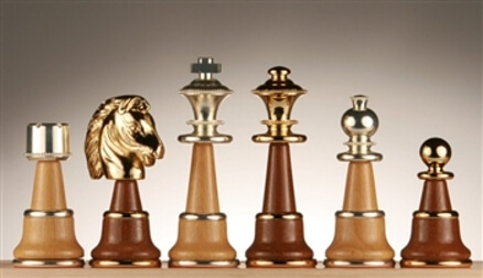 brass chess sets