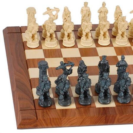 chess set of the gods