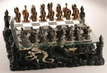 Dragon 3D Chess Set