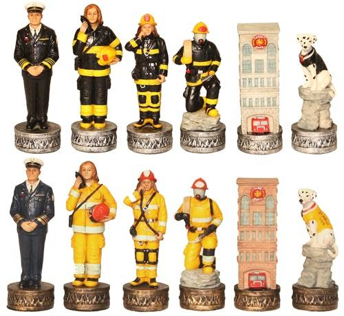 firefighter chess set