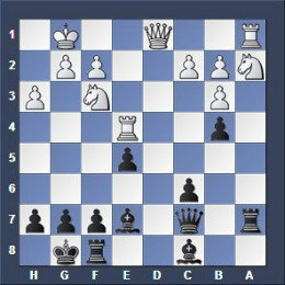 commented chess game