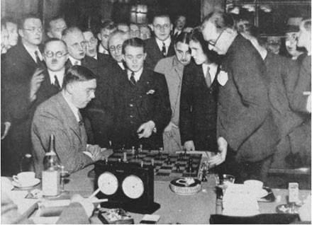 Alexander Alekhine versus Max Euwe 1935
