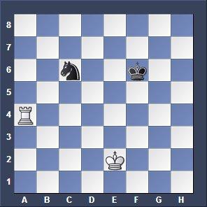 rook versus knight
